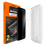 Spigen Tempered Glass Screen Protector [with Installation Kit] Designed for iPhone 8 Plus (2 Pack)
